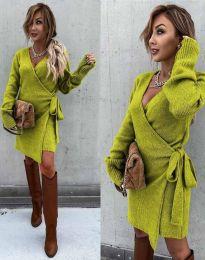 Φόρεμα - κώδ. 9846 - πράσινο