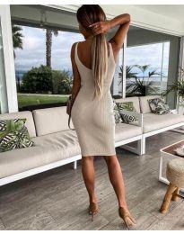 Φόρεμα - κώδ. 4301 - μπεζ