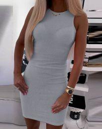 Φόρεμα - κώδ. 9560 - γκρι