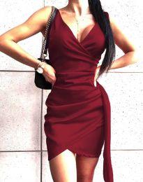 Φόρεμα - κώδ. 4678 - μπορντό