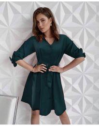 Φόρεμα - κώδ. 9028 - χακί