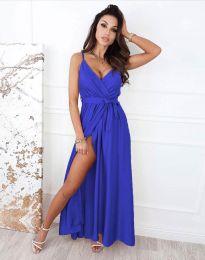 Φόρεμα - κώδ. 2651 - μπλε