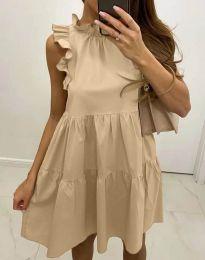 Φόρεμα - κώδ. 2663 - μπεζ