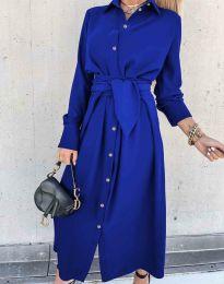 Φόρεμα - κώδ. 1860 - μπλε