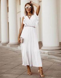 Φόρεμα - κώδ. 3320 - λευκό
