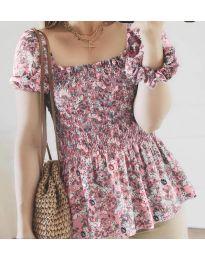 Μπλούζα - κώδ. 3464 - ροζ