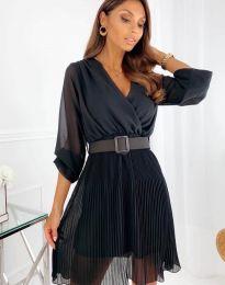 Φόρεμα - κώδ. 3497 - μαύρο