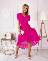 Φόρεμα - κώδ. 8934 - 5 - φουξια