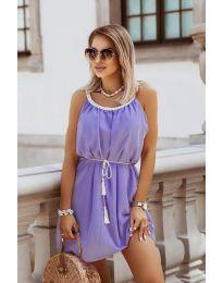 Φόρεμα - κώδ. 8800 - μωβ