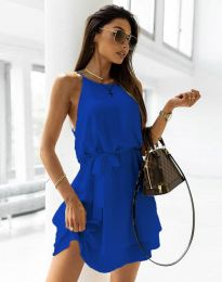 Φόρεμα - κώδ. 9968 - σκούρο μπλε
