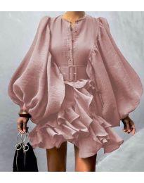 Φόρεμα - κώδ. 2819 - ροζ