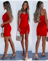 Φόρεμα - κώδ. 8979 - κόκκινο