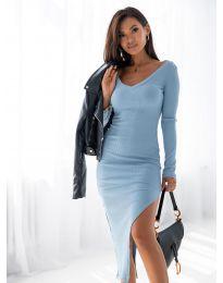 Φόρεμα - κώδ. 12070 - γαλάζιο