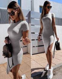 Φόρεμα - κώδ. 8391 - γκρι