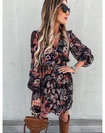 Φόρεμα - κώδ. 7712 - 2 - πολύχρωμο