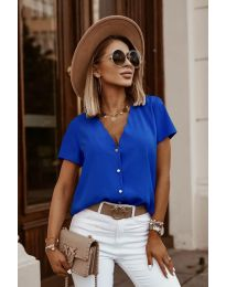 Κοντομάνικο μπλουζάκι - κώδ. 0606 - σκούρο μπλε