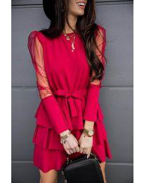 Φόρεμα - κώδ. 8384 - μπορντό