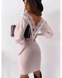 Φόρεμα - κώδ. 1718 - ροζ