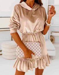 Φόρεμα - κώδ. 0424 - μπεζ