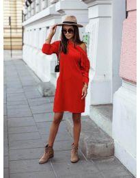 Φόρεμα - κώδ. 8171 - κόκκινο