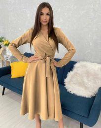 Φόρεμα - κώδ. 0576 - μπεζ