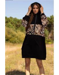Φόρεμα - κώδ. 4546 - 5 - μαύρο
