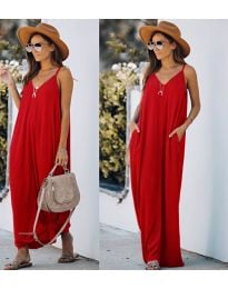 Φόρεμα - κώδ. 0209 - κόκκινο