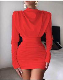 Φόρεμα - κώδ. 8257 - κόκκινο