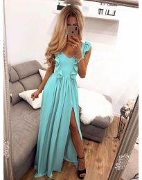 Φόρεμα - κώδ. 673 - τυρκουάζ