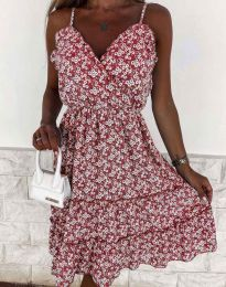 Φόρεμα - κώδ. 3265 - πολύχρωμο