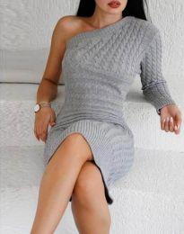 Φόρεμα - κώδ. 2588 - γκρι