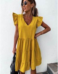 Φόρεμα - κώδ. 211 - μουσταρδί