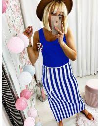 Φόρεμα - κώδ. 5544 - μπλε