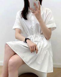 Φόρεμα - κώδ. 6292 - λευκό