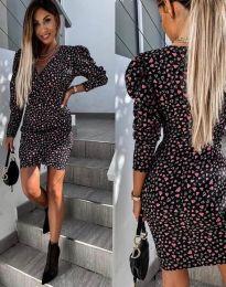 Φόρεμα - κώδ. 2055 - 2 - μαύρο