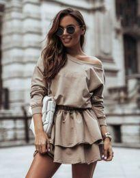 Φόρεμα - κώδ. 12051 - μπεζ