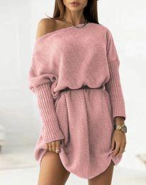 Φόρεμα - κώδ. 6940 - πούδρα