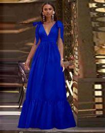 Φόρεμα - κώδ. 2743 - σκούρο μπλε