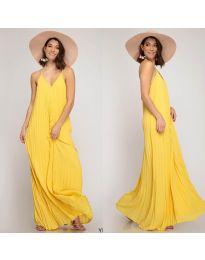 Φόρεμα - κώδ. 0508 - κίτρινο