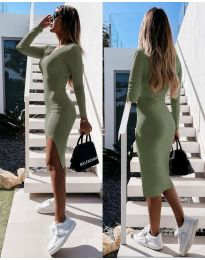Φόρεμα - κώδ. 8291 - πράσινο