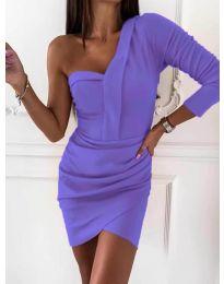 Φόρεμα - κώδ. 2079 - μωβ