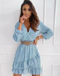Φόρεμα - κώδ. 2794 - μπλε
