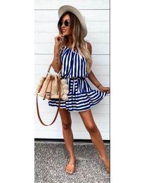 Φόρεμα - κώδ. 038 - σκούρο μπλε