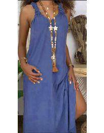 Φόρεμα - κώδ. 9597 - μπλε