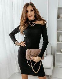 Φόρεμα - κώδ. 0984 - 2 - μαύρο