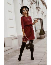 Φόρεμα - κώδ. 6100 - μπορντό