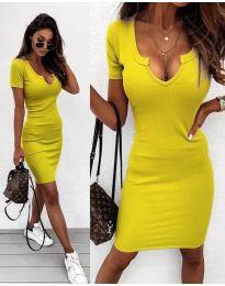 Φόρεμα - κώδ. 8829 - κίτρινο