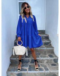 Φόρεμα - κώδ. 6643 - μπλε
