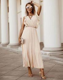 Φόρεμα - κώδ. 3320 - μπεζ