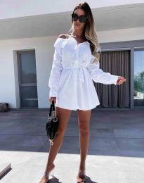 Φόρεμα - κώδ. 1457 - λευκό